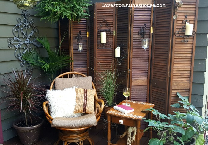 Boho Style Decorative Screen – Thrift Store Upcycle Challenge