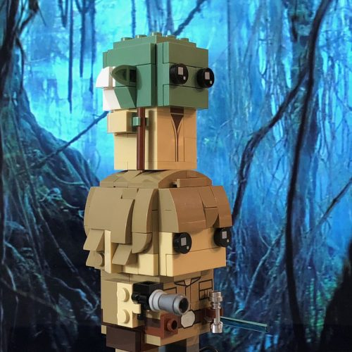 LEGO Brickheadz Luke Skywalker and Yoda