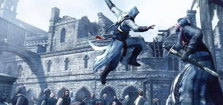Assassin's Creed ассасин в эпоху Крестовых походов