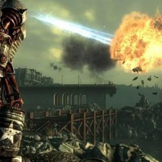 Fallout 3 взрыв