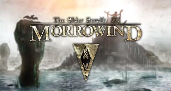 Лого к игре The Elder Scrolls 3: Morrowind