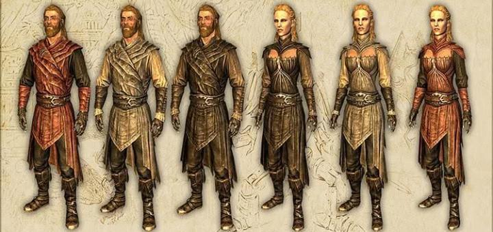 The Elder Scrolls V: Skyrim – Легкие доспехи