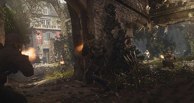 Новые скриншоты и трейлер игры Call of Duty: WWII