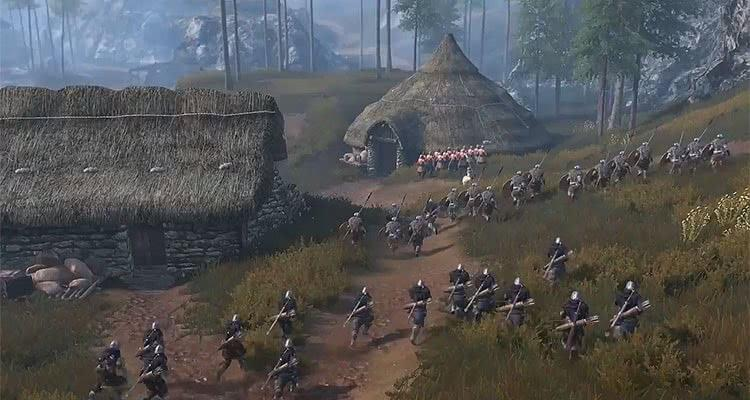 Mount and Blade 2 Bannerlord трейлер битвы 5 на 5 в режиме «Captain Mode»
