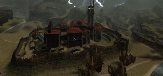Северная сторона замка Старого лагеря