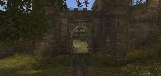 Южные ворота города Хоринис - игра Готика 2