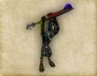 Готика 1 монстры - Граш-Варраг-Арушат, высшая форма нежити, мини босс Храма Спящего
