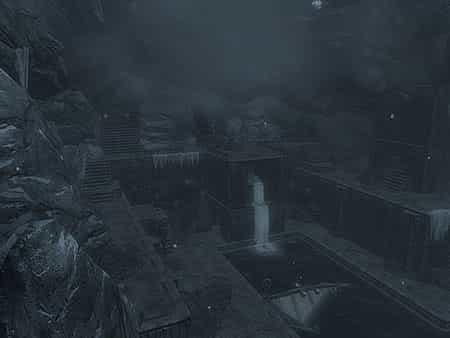 Вход в подземелья замка Волкихар