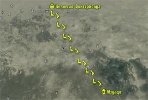 Путь в руины Мзулфт - задание Открытие невидимого