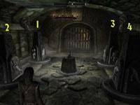 Саартал - головоломка с вращающимися тумбами