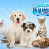 Wauies - животные и логотип