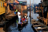 Floating homes in Lagos