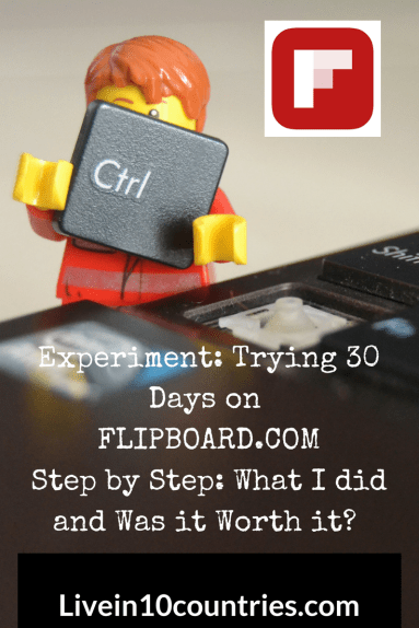 Experiment: 0-30 days on Flipboard to what works, what doesn't and can Flipboard drive traffic to my site?