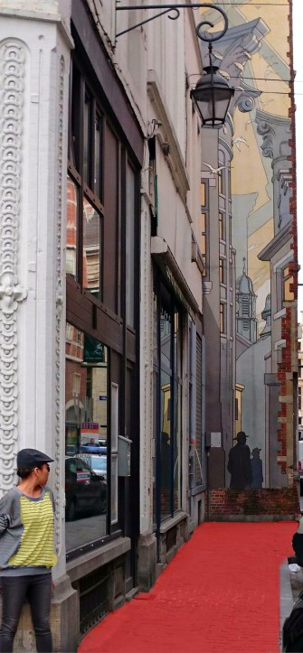 The perfect Brussels layover- a stop on the comic book street art tour in the city.  Discover the beauty of Belgium, the heart of Europe.