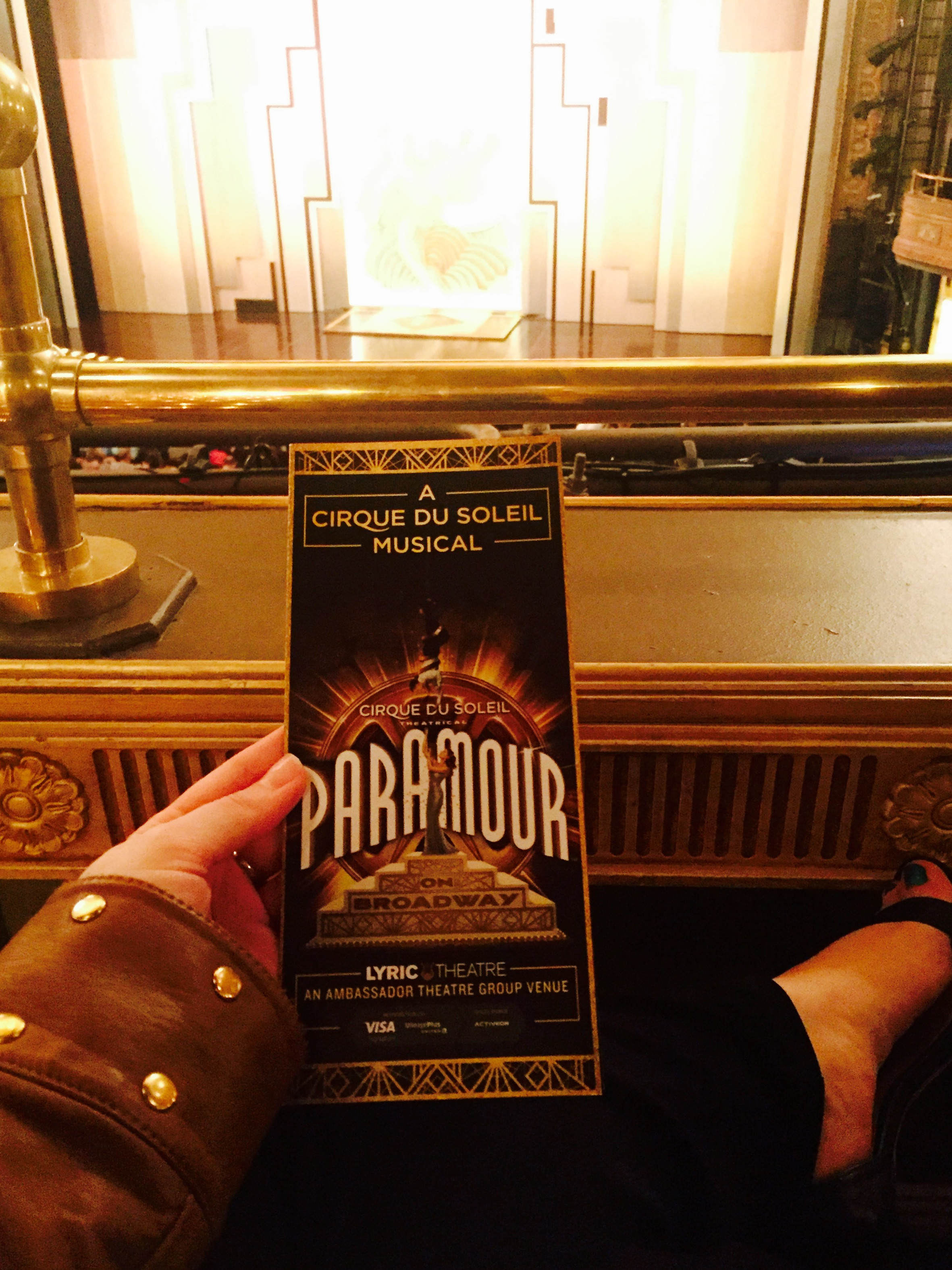 Paramour: A Broadway Show