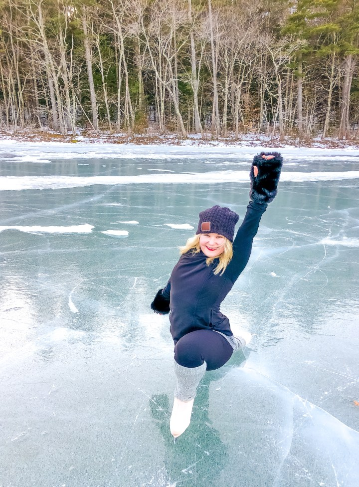 The Novelty of Lake Skating (and a Couple Safety Tips)