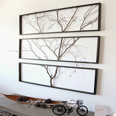 Framed Tree Branch Wall Art Ideas Live In Tomorrow