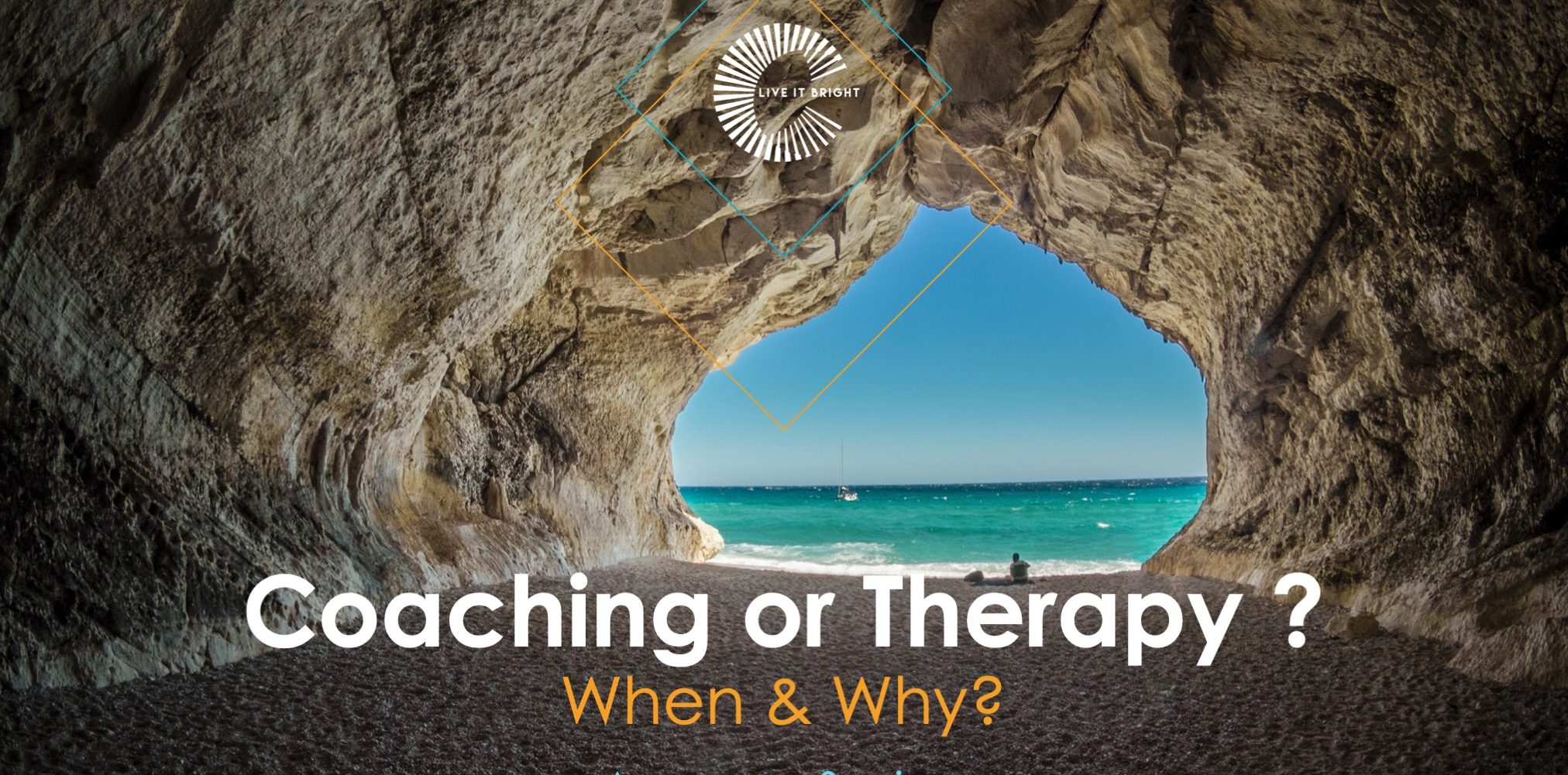 Coaching or Therapies? Why, and when?