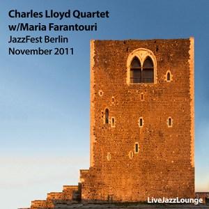 Charles Lloyd Quartet with Maria Farantouri – JazzFest Berlin, November 2011
