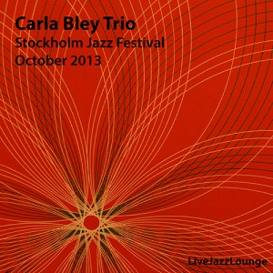 Carla Bley Trio – Stockholm Jazz Festival, October 2013