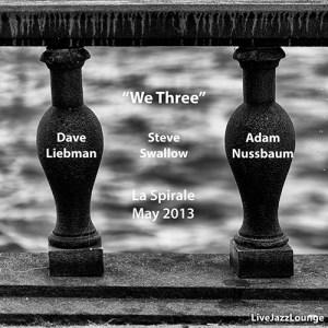 """Liebman, Swallow, Nussbaum """"We Three"""" – La Spirale, Fribourg, May 2013"""