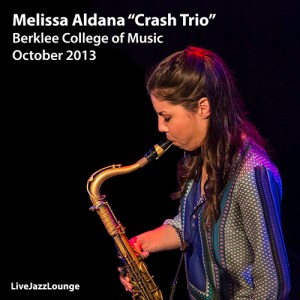 "Melissa Aldana ""Crash Trio"" – Berklee College of Music, October 2013"