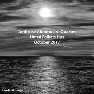 Ambrose Akinmusire Quartet – Umeå Folkets Hus, October 2017