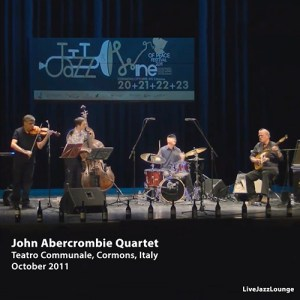 John Abercrombie Quartet – Teatro Communale, Cormons, Italy, October 2011