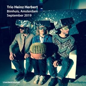 Trio Heinz Herbert – Bimhuis, Amsterdam, September 2019