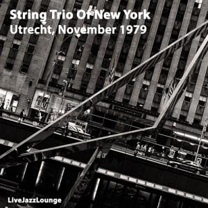 String Trio Of New York – Utrecht, Netherlands, 1979