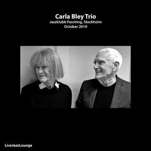 Carla Bley Trio – Jazzklubb Fasching, Stockholm, October 2019