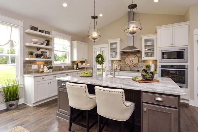 Fabulous Kitchens | The Jones Company on Model Kitchen Picture  id=47922