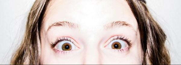 amazed eyes