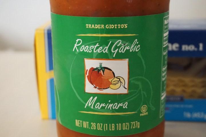 Trader Joe's Roasted Garlic Marinara