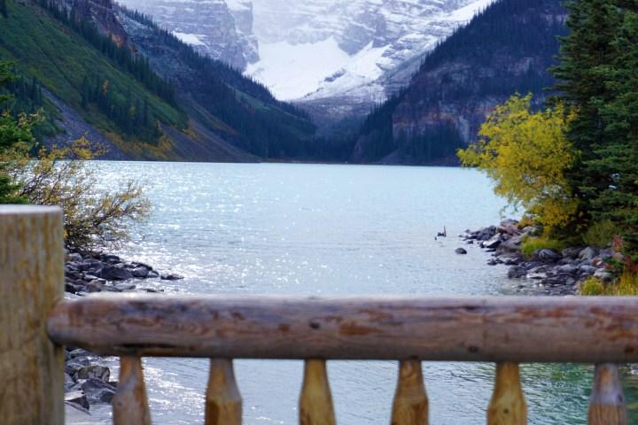 lake louise view