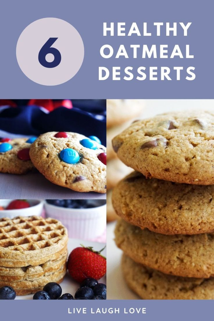 healthy oatmeal desserts