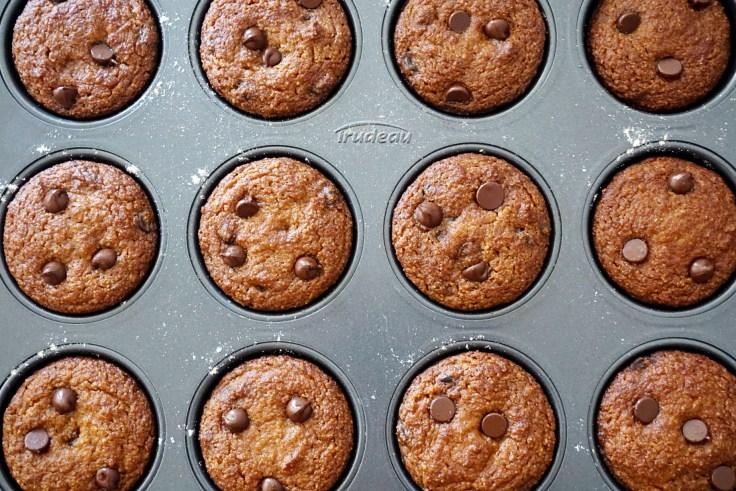 baked almond flour pumpkin muffins