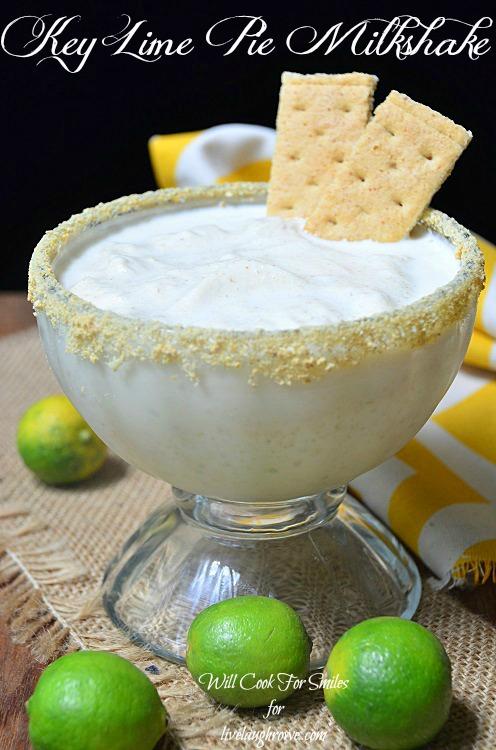 Key-Lime-Pie-Milkshake 2 willcookforsmiles.com