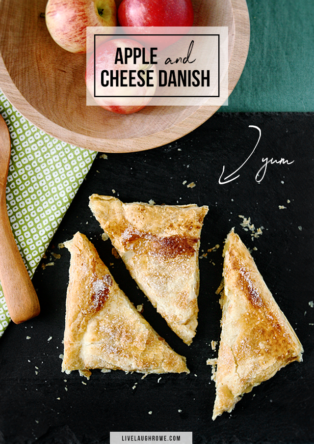 Apple and Cheese Danish