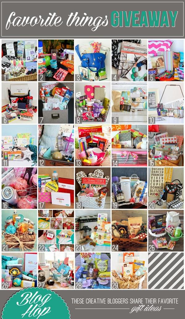 2013 Favorite Things Giveaway Blog Hop