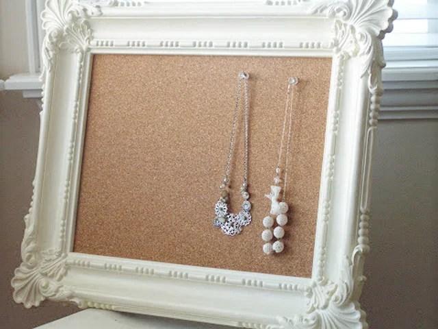 Framed Cork Boards via Tea Rose Home