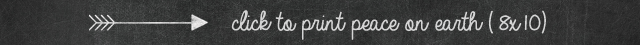 click to print peace on earth printable