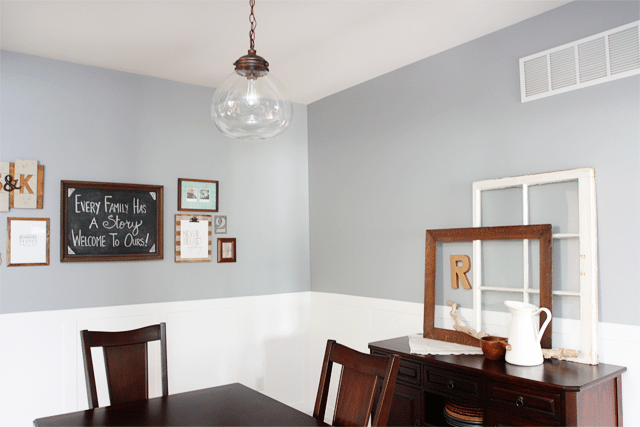 Light and Bright Dining Room at Live Laugh Rowe
