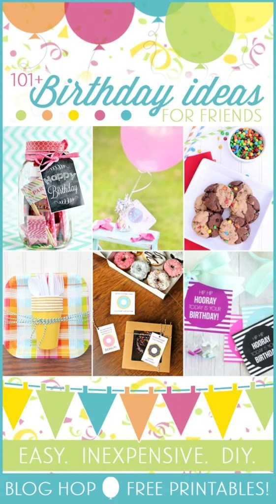 101+ Birthday Gift Ideas for under $5 with livelaughrowe.com