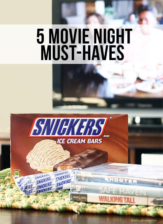 Movie Night Must-Haves