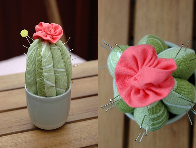 Adorable Cactus Pincushion
