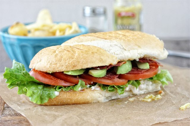 BLTA Sandwich