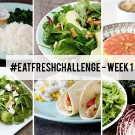 Eat Fresh Challenge with Cooking Planit and Colavita. Week one was a huge success! More details at livelaughrowe.com