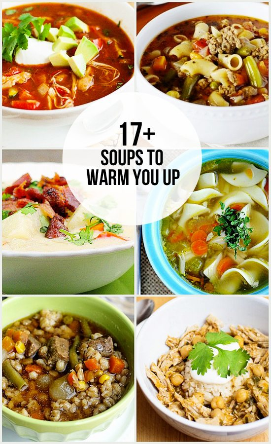 Soups to Warm You Up - Live Laugh Rowe
