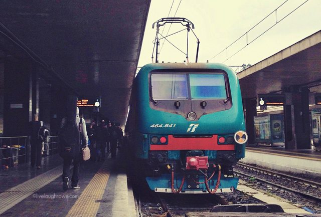 Train from Rome to Florence, Italy #florence #italy